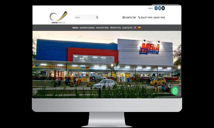 diseño de paginas web cali